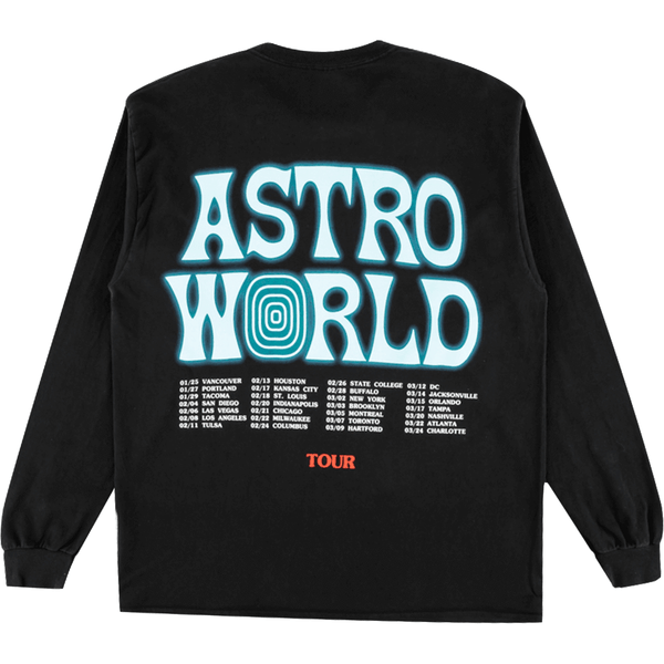 Astroworld Horse Long Sleeve Tee