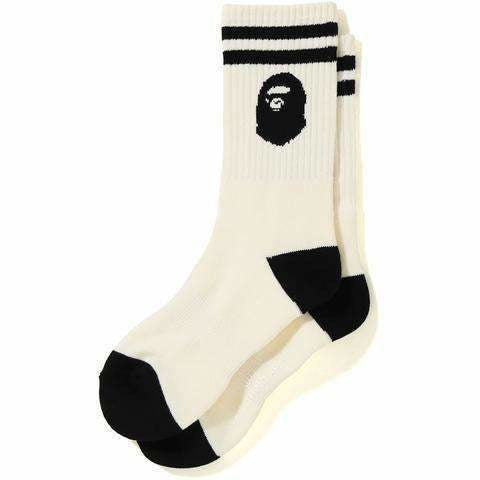 Bape ape head socks