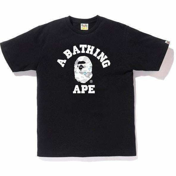 BAPE Space Camo College Tee - Black