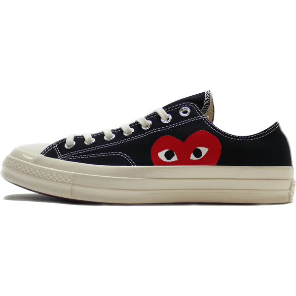 Converse x Comme des Garcons PLAY LOW Black