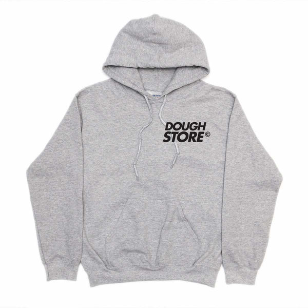 Dough Store Small Logo Hoodie - Grey