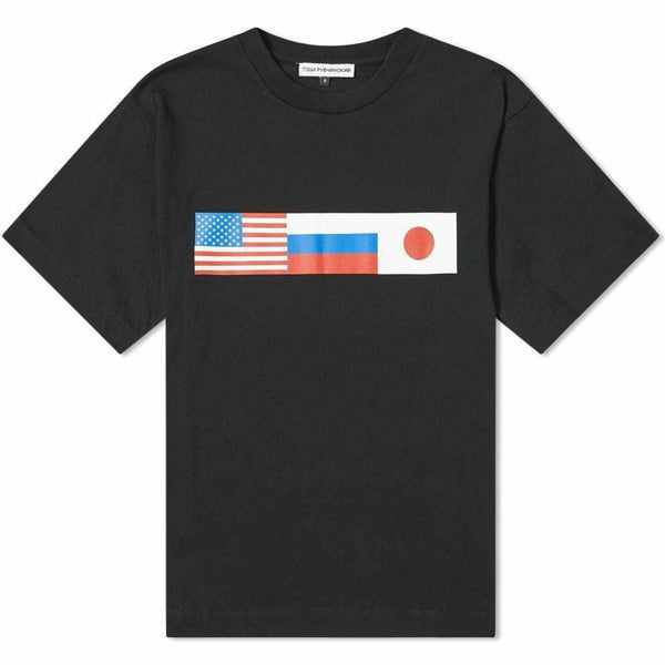 Goshe Flag Tee Black