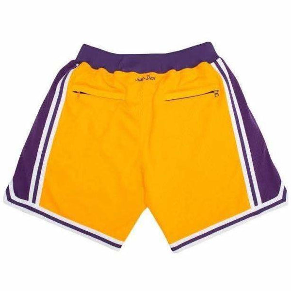 Just Don Shorts - Lakers