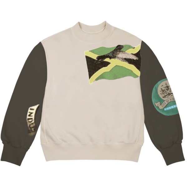 Kanye West Jesus Is King Jamaica Flag Crewneck - Brown