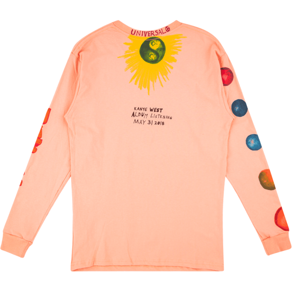 Kanye West x Wyoming KKW LS Tee - Peach