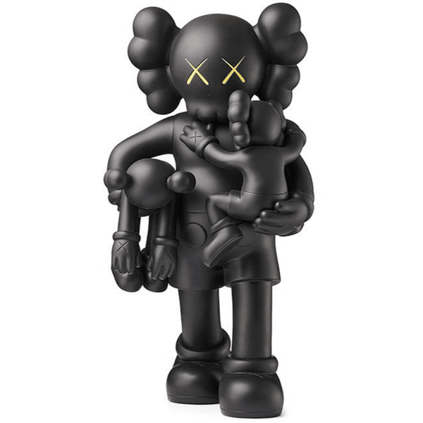 KAWS Clean Slate Vinyl Figure - Black