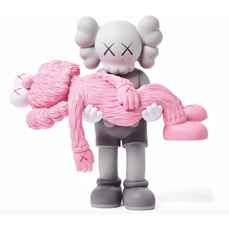 KAWS Gone Figure - Grey