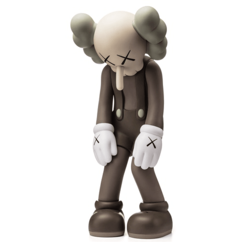 Kaws Small Lie Companion - Brown