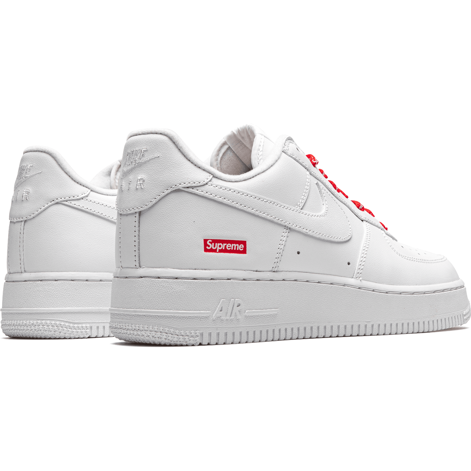 Nike Air Force 1 Low Supreme - Mini Box Logo - White