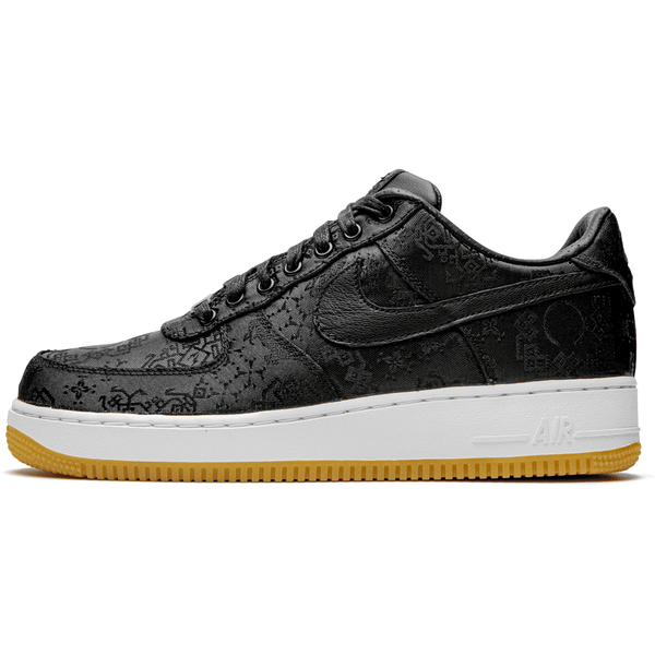 Nike x Clot Air Force 1 - Black Silk