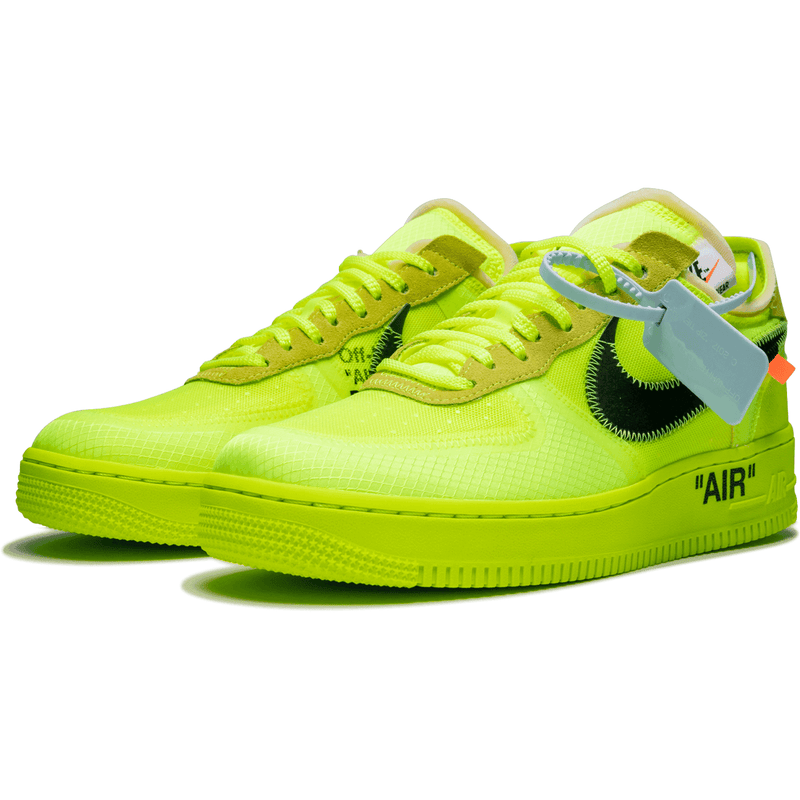 Nike X Off White Air Force 1 - Volt