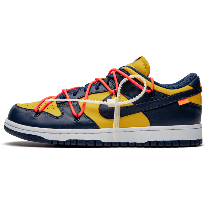 Nike X Off White Dunk - Uni Gold