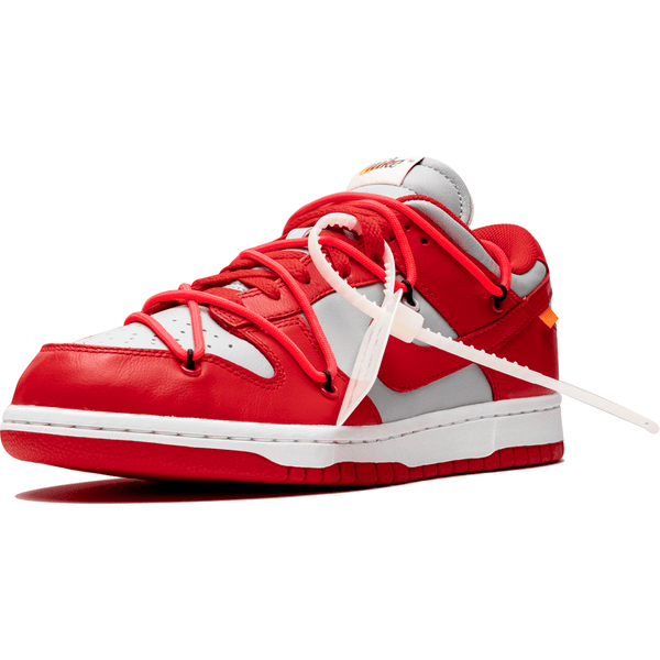 Nike X Off White Dunk - Uni Red