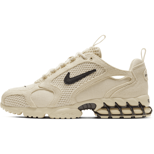 Nike x Stussy Air Zoom Spiridon Cage 2 - Fossil