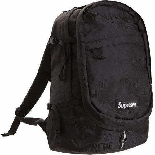 Supreme Backpack SS19 - Black