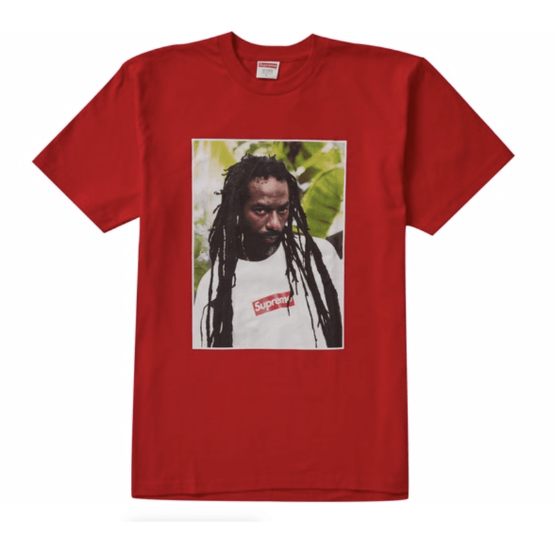 Supreme Buju Banton Tee - Red