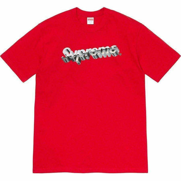 Supreme Chrome Tee - Red