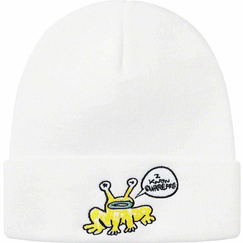 Supreme Daniel Johnston Beanie - White