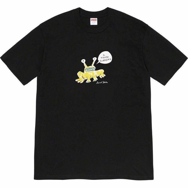 Supreme Daniel Johnston Frog Tee - Black