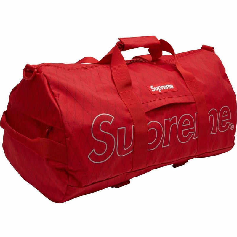 Supreme Duffle Bag - FW18 (Red)
