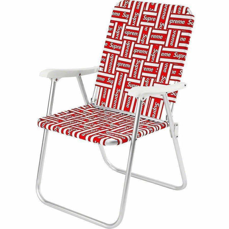 Supreme Lawn Chair - Red