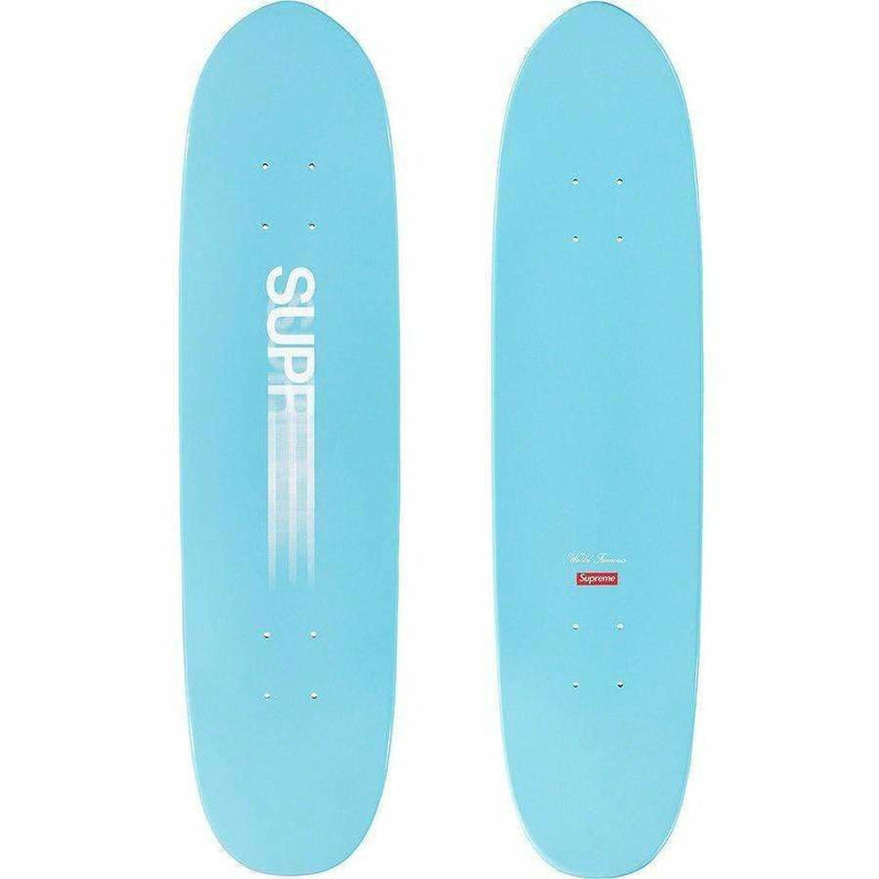 Supreme Motion Logo Cruiser Skateboard - Blue