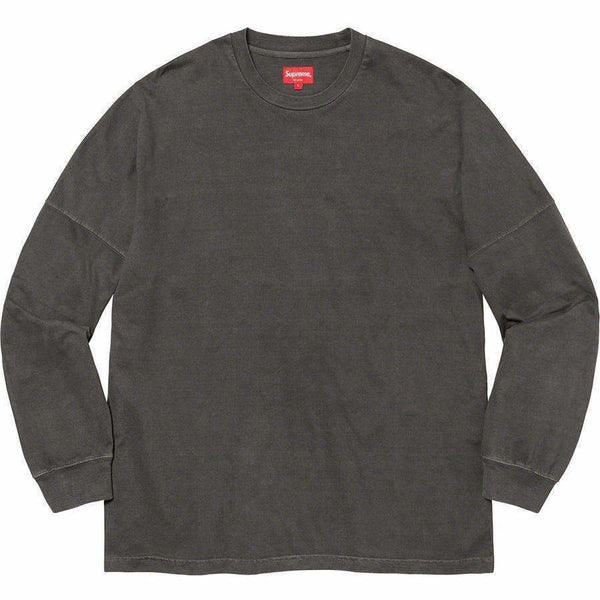 Supreme Overdyed L/S Top - Black