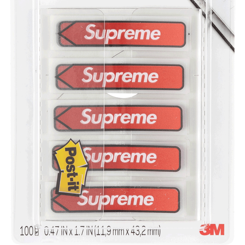 Supreme Post-it Flags (Red)