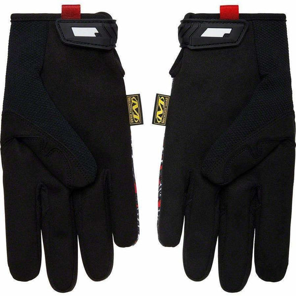 Supreme x Mechanix Original Work Gloves - Red