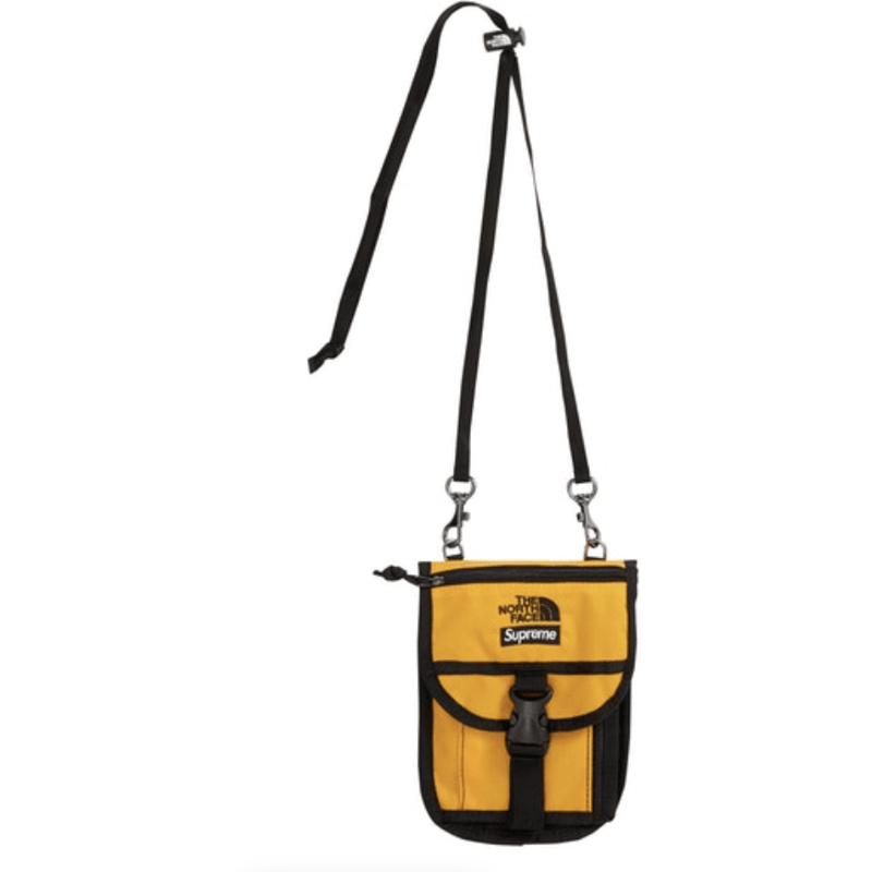 Supreme x The North Face Utility Pouch - Yellow