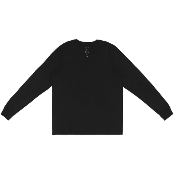 Travis Scott Cactus Nike SB Deck Long Sleeve Tee - Black