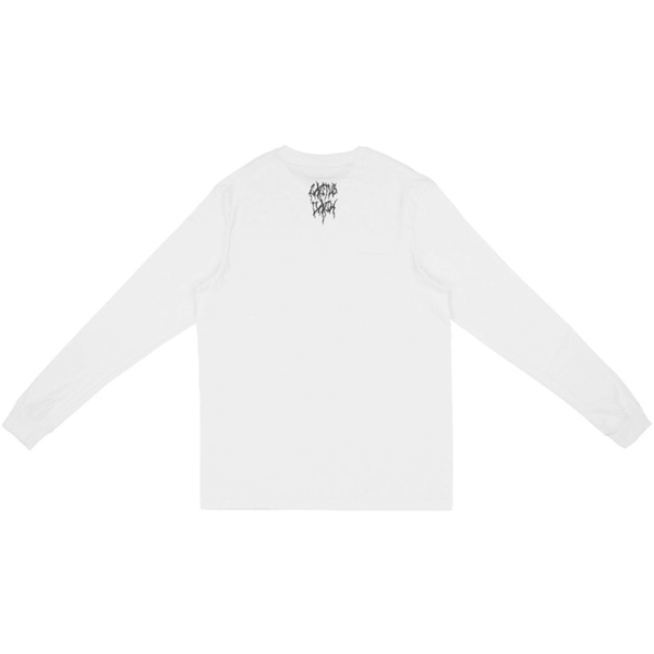 Travis Scott Cactus Nike SB Long Sleeve Tee - White