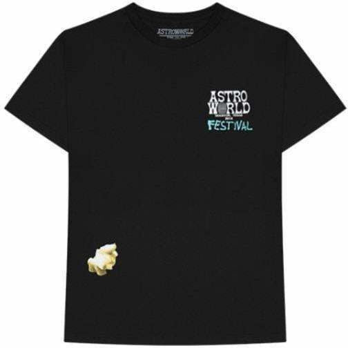 Travis Scott Festival Airbrush Tee Black