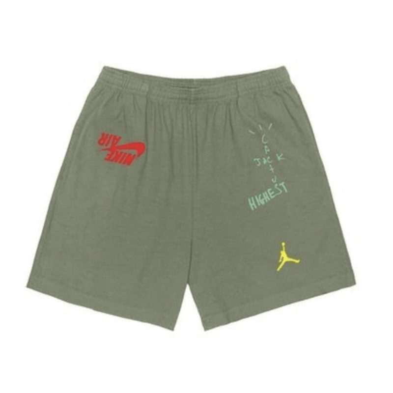 Travis Scott Jordan Cactus Shorts - Green