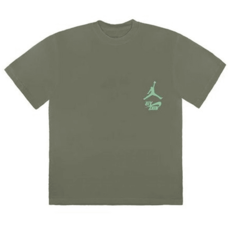 Travis Scott Jordan Cactus Tee - Green