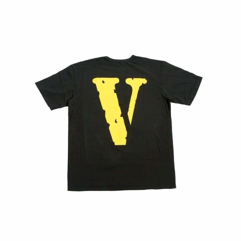 VLONE Friends Tee - Black/Yellow