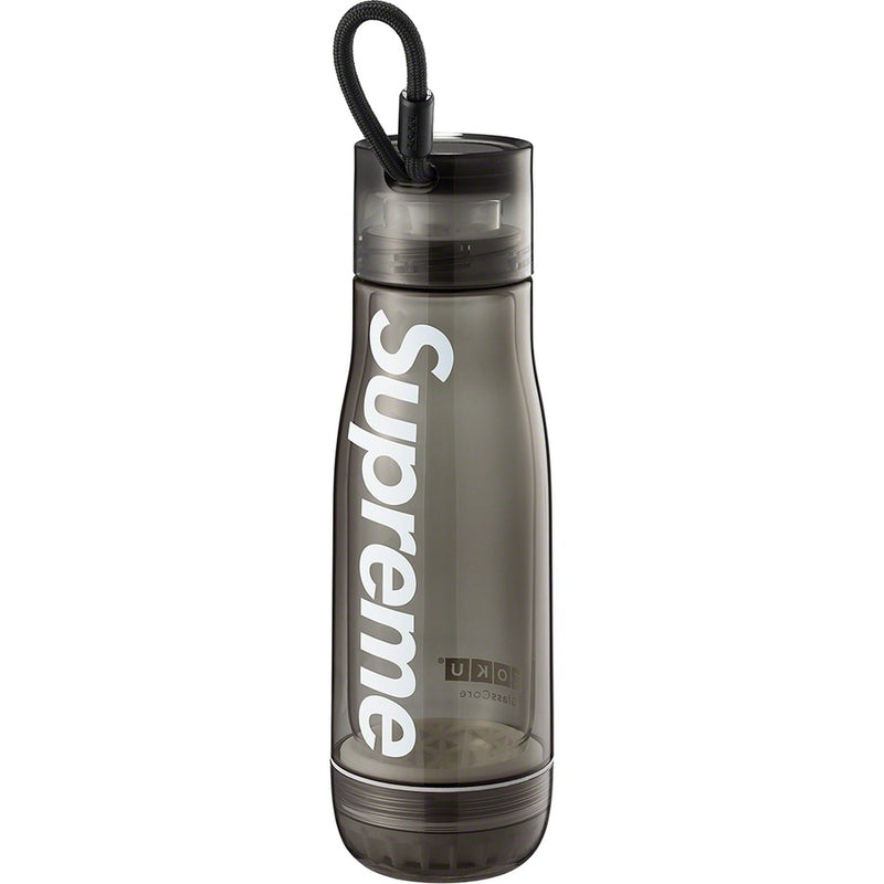 Supreme/Zoku Glass Core 16 oz. Bottle - Smoke