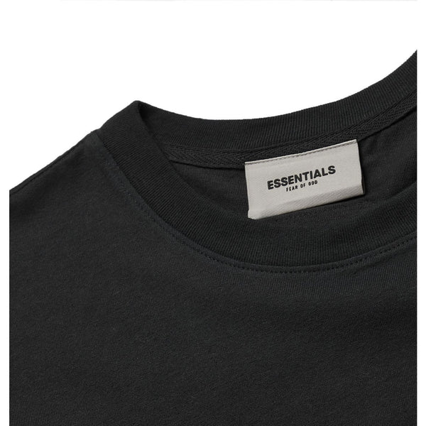 FOG - ESSENTIALS 3D Silicon Applique Boxy Tee (Black)