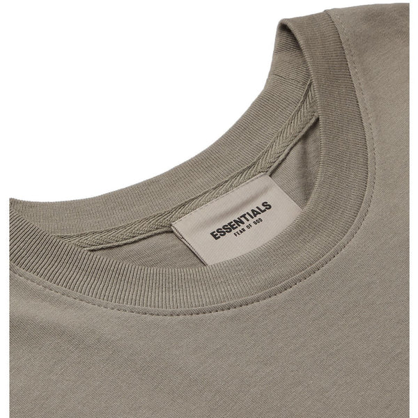 FOG - ESSENTIALS 3D Silicon Applique Boxy Tee (Grey)