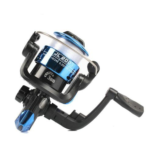 Vissen molinete Spinning Fishing Reel carretel molinete para pesca  High Speed G-Ratio 5.2:1 Fishing Reel Lure Reel