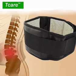 * Tcare Adjustable Waist Tourmaline Self heating Magnetic Therapy Back Waist Support Belt Lumbar Brace Massage Band Health Care