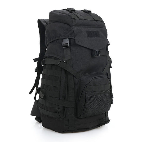 727f152a8106 Molle 60L Camping Rucksack Tactical Military Backpack Large Waterproof  Backpacks Camouflage Hiking Outdoor Shoulder Bag XA281WA