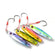 TOMA 4PCS/lot Metal Jigging Fishing Lure with Hook 7g 14g 28g 40g Mini Jig Hard Bait Slowly Sinking Spoon Lure Fishing Tackle