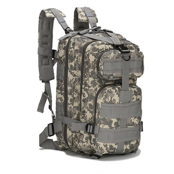 dd63ad25deda Outdoor Oxford Fabric Military 30L Tactical Backpack Trekking Sport Travel  Rucksacks Camping Hiking Camouflage Bag