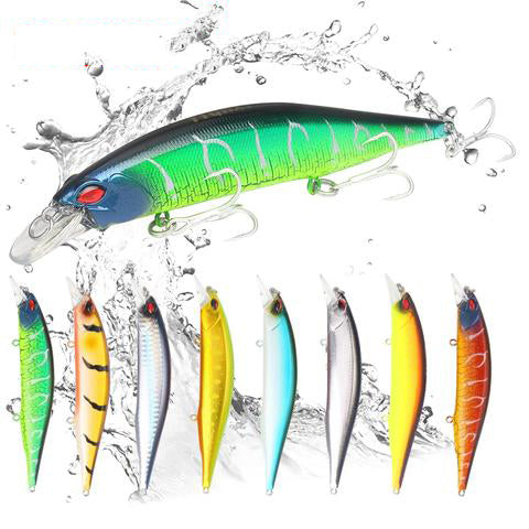 YTQHXY 2018 Quality Professional Hard Bait 135mm 19.2g Floating Minnow Fishing Lure Wobbler Bass Pike Artificial Lures YE-498