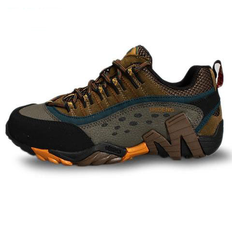 cda3f63ec4a Baideng brand men outdoor hiking shoes waterproof breathable hunting t