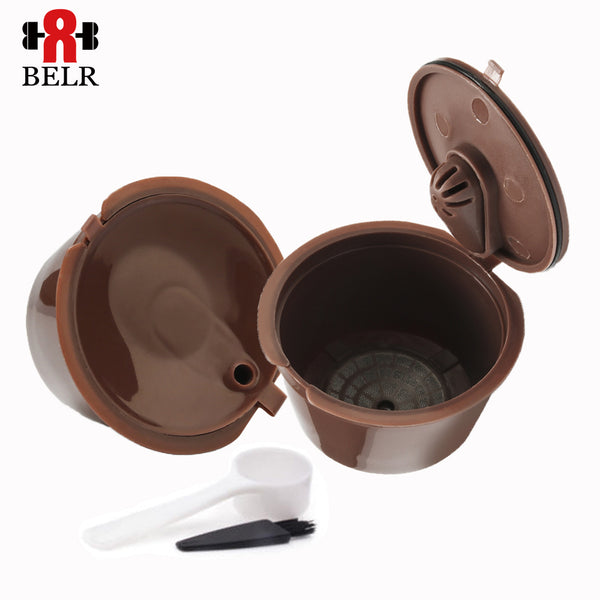 Back To Search Resultshome & Garden Active Reusable Coffee Filter Capsule For Nespresso Coffee Machine Maker Refillable Empty Coffee Capsule Pod With Aluminum Seals Kitchen,dining & Bar