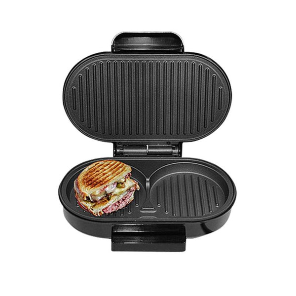 BBQ Steak Hamburger Electric Grill Meat Roaster Machine Egg Frying Pan Mini  Sandwich Maker Bread Oven Breakfast Barbecue Tools