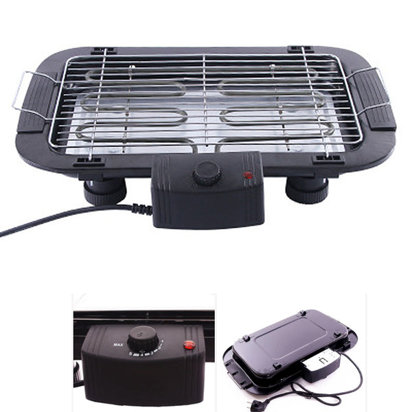 2000W Electric Barbecue Tabletop Grill Hiking Garden Camping Picnic BBQ Grill high quelity