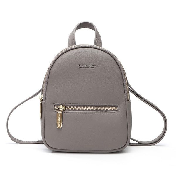 WEICHEN New Designer Fashion Women Backpack Mini Soft Touch Multi-Function Small  Backpack Female Ladies 6b58a672791a5